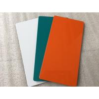 Quality Green Alucobond Sign Board / Aluminum Sign Material With Weather Resistance for sale