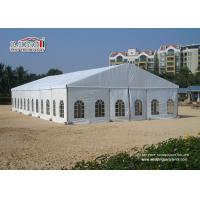 China Aluminum Easy Luxury Wedding Tents For Event Party / Germanic Standard Beach Tent wholesale