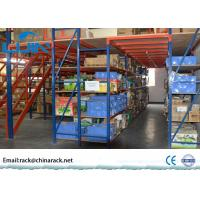 China Pallet Mezzanine Floor Racking SystemQ235B Cold Roll Steel Large Load Capacity wholesale