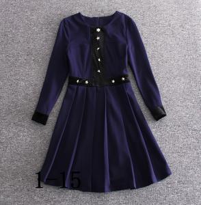 China 2018 burberry fashionable dress quality women dresses bulk order printing dress wholesale