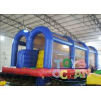 China Outdoor Easy Inflatable Obstacle Course Rental Birthday Party Security wholesale