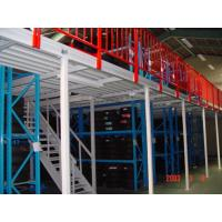 China Industrial Warehouse Multi Tier Mezzanine Rack / Metal Storage Shelves wholesale