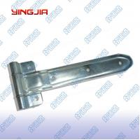 China 01127  Trailer truck stamping zinc plated stainless steel strap hinge wholesale