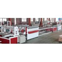 China Kitchen Cabinets Furniture WPC Board Production Line Output 340 - 380 kg/H wholesale