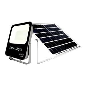 China 10000 Lumens Reflectores 12 Volt 100w Solar Flood Light on sale