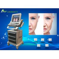 China Portable Hifu Face Lift Device 3 And 5 Cartridges Hifu Slimming Machine on sale