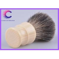 Quality Handmade badger shaving brush faux ivory high density badger knots for sale