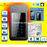 China Bluetooth Mobile Phone POS with Magnetic Strip and Smart Card Reader wholesale