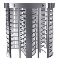 China Indoor One-way Direction Full Height Turnstile with Stainless Steel Tube for Bus Station wholesale