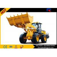 China High Speed 28km/H Compact Wheel Loader Max Breakout Force 30kN wholesale