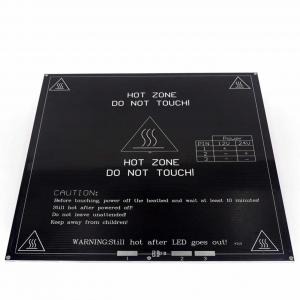 China 214*214* 3mm 24V 3D Printer Heatbed Aluminum Substrate Hot Plate wholesale