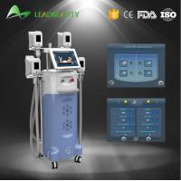 China 4 handles Vertical 2000W Cryolipolysis cold body sculpting machine wholesale