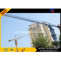 Quality Professional Dubai Topless Tower Crane Freestanding Height 41m for sale