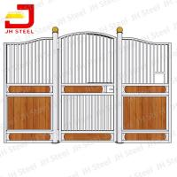 Buy cheap Powder Coated Horse Stall Panels , Horse Barn Stalls Steel Pipe Material from wholesalers