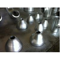 China Seamless carbon steel pipe reducer fittings , galvanized reducer wholesale