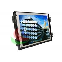 China Panel Mount 15 Inch Industrial LCD Monitor Open Frame With Powder Coated Aluminum on sale