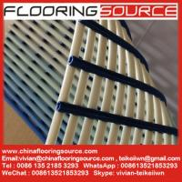 Quality Non slip pvc tube wet area matting swimming pool matting and changing room for sale