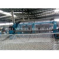 China 2 x 1 x 1 Gabion Wall Mesh Galvanized gabion mesh wire For Blood Protection wholesale