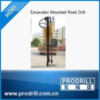 China Pd-90 Hydraulic Excavator Mounted Drill Rig wholesale