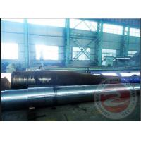 China OEM Marine Auto Parts Open Die Disc Forging ASTM / Alloy Steel Spindle Shaft Forging wholesale