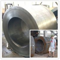 China Forged Shell Heavy Steel Forgings Special Sizes Manufacturing & Mining Cylinder Forgings wholesale