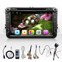 China hot sale double dins car stereo 8 inch capacitive touch screen with gps , bluetooth,ipod,SWC,3D UI,radio for VW on sale