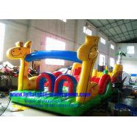 China Commercial Inflatable Water Park For Kids, Inflatable Water Obstacle Course on sale
