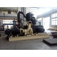 China Oil Free High Pressure Piston Air Compressor 40bar With PLC Control wholesale