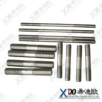 China GH2132 China hardware fasteners stainless steel double end threaded bolt wholesale