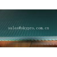 China Industrial PVC conveyor belt belting 7mm for stone / ceramic / marble wholesale