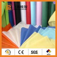 China Colorful Waterproof Spun Bonded Raw Material For Non Woven Fabric , 10gsm-320gsm wholesale