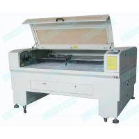 China DT-1610 CCD 100W CNC CO2 seal laser cutting machine with scanning camera on sale