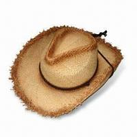 China Party Hat, Available in Various Colors and Designs, Made of Natural Grass wholesale