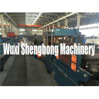 15KW Steel Purplin Cold Roll Forming Machine PLC Controlling System