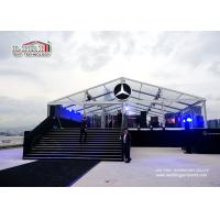 China 5000 sqm Glass Wall Aluminum Frame Second Hand Marquee Canopy Tent  Waterproof PVC wholesale