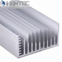 China Cars 6005 Extruded Aluminum Heatsink Customized Shape PVDF Finishing wholesale
