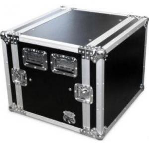 China Amplifier Rack Speaker Case / Audio Equipment 6U Flight Case wholesale