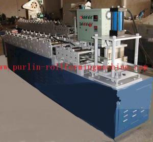 China Color Steel T Bar Roll Former Machine for Bar Gusset Plate / Light Steel Keel wholesale