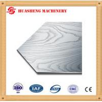 China 304 410 Stainless Steel Press Plates With Cloth Texture For Melamine Furniture Board wholesale