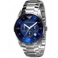 China Wholesale NEW Emporio Armani AR5860 Stainless-Steel Quartz Watch Blue Dial Men's Watch wholesale