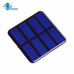 China 2V transparent solar panel for solar power system home ZW-5050 Epoxy Resin Solar Panel wholesale
