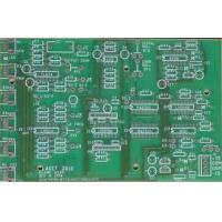 China Green solder white silkscreen double side PCB - double layer PCB FR4 1 oz Copper wholesale