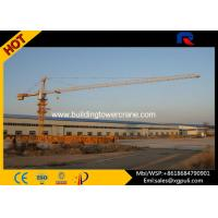 Quality Slewing Speed 0.6 R/Min City Lifting Building Tower Crane Jib Length 50M for sale