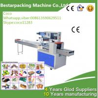 China flow packing machine with automatic feeder wholesale