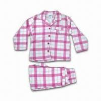 China Children's Sleepwear, Long Sleeve Top with Long Pant wholesale