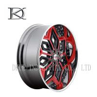 7.5 X 18 Inch Car Racing Wheels Rims Lightweight Welded With 5 Hole