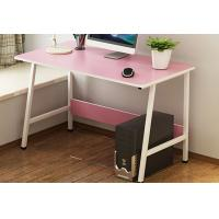 China Pink Color Economical Bedroom Desktop Pc Desk Table Oem Service Welcome wholesale