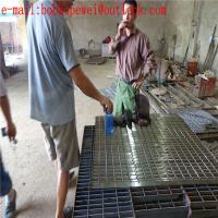 China stair treads steel grating/grating steel structural/metal slot drainage cover steel grating/32 x 5mm grating on sale