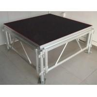 Quality Professional Portable Stage Platforms / Aluminum Folding Stage With 18mm Plywood for sale