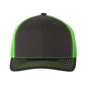 China Gorras Sports 6 Panels Blank Plain Green Trucker Mesh Caps wholesale